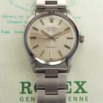 Rolex Air King Precision Steel 34mm Silver No numerals