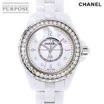 Chanel J12 pre-owned 29mm White Steel