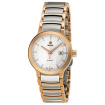 雷达 (Rado) Rado Ladies R30954123 Centrix Two-tone Watch