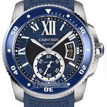 Cartier Calibre de Cartier Diver Steel 42mm Blue United States of America, New York, Airmont