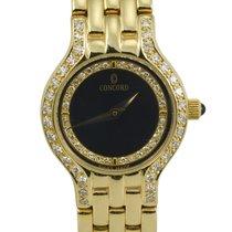 Concord Le Palais Ladies 14k Yellow Gold and Diamond Wristwatch