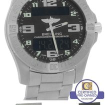 Breitling Aerospace Evo Titanium E79363 Digital 43mm Quartz Watch
