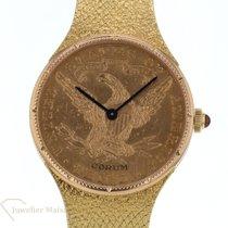 Corum Coin Watch Gelbgold 27.6mm Gold Keine Ziffern Deutschland, Düsseldorf