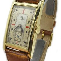 Omega 14k Gold Art Deco Rare Caliber 20F Movement 1934