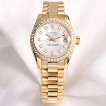 Rolex Factory Rolex Lady DateJust 179138 MOP Diamond 18k