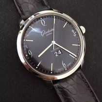 Glashütte Original Sixties Panorama Date 2-39-47-03-02-04 Glashutte Vintage Panorama Quadrante Nero new