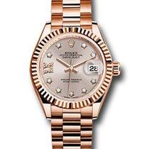 Rolex Datejust Everose Gold & Diamonds Ladies Watch