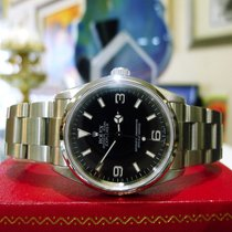 Rolex Explorer Ref: 114270 Stainless Steel 36mm Auto Black...