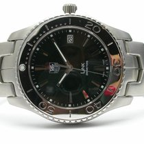 TAG Heuer Link Stainless Steel Men's Watch Black Dial...