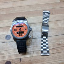 Breitling Emergency II, Ti Strap, Orange Dial, Papers, Box,...