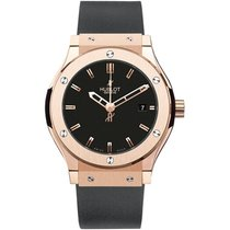 Hublot Rose gold Automatic Black 45mm new Classic Fusion 45, 42, 38, 33 mm