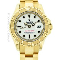 Rolex 18k yellow gold ladies Yachtmaster