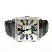 Roger Dubuis White gold Automatic Mother of pearl Arabic numerals 40mm pre-owned Golden Square