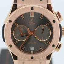Hublot Classic Fusion Chronograph Vendome Rose Gold Grey Dial