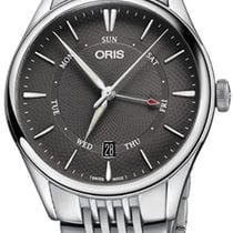 Oris Artelier Pointer Day Date Steel 40mm Grey United States of America, New York, Airmont