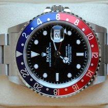 Rolex [Service +24M. Warranty] GMT Master I -PEPSI- 1998