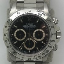 Rolex Daytona Steel Black No numerals