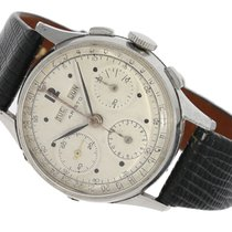 Wristwatch very rare vintage stainless steel chronograph with...