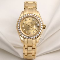 Rolex Lady-Datejust Pearlmaster pre-owned 29mm Date Yellow gold