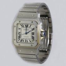 Cartier Santos Galbée 2823 Acciaio Completo