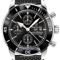 Breitling Superocean Héritage II Chronographe Steel 44mm Black United States of America, New York, Airmont