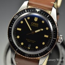 Oris 40mm Automatic 2019 new Divers Sixty Five Black