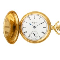 Elgin Yellow gold 34mm Manual winding pre-owned