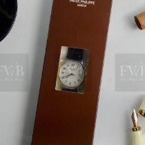 Patek Philippe Calatrava White gold 38mm Silver Arabic numerals
