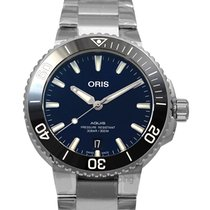 Oris Aquis Date new Automatic Watch with original box and original papers 01 733 7732 4135-07 8 21 05PEB