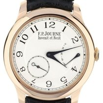 F.P.Journe Rose gold Manual winding White 40mm pre-owned Souveraine