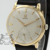 Omega De Ville Trésor pre-owned 34.5mm Silver Leather
