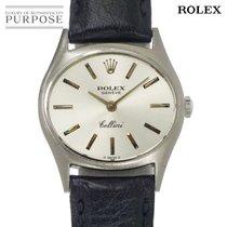 Rolex Ouro branco 26mm Corda manual 3802 usado