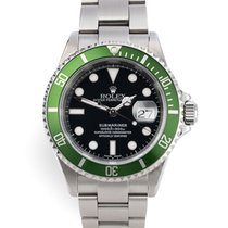 Rolex Submariner Date pre-owned 40mm Date Year Steel