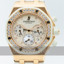 Audemars Piguet Royal Oak Offshore Lady Roségoud 37mm Wit