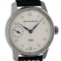 Zeno-Watch Basel Steel 40mm Manual winding 6558-9 new