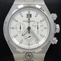 Vacheron Constantin Overseas Chronograph Stahl 48mm Silber
