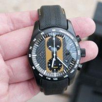 Porsche Design Chronotimer Titanium 42mm Goud Arabisch