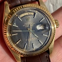 Rolex Day-Date 36 Gelbgold 36mm Grau Keine Ziffern Schweiz, Roveredo