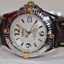 Breitling Callisto pre-owned 34mm Silver Date Leather