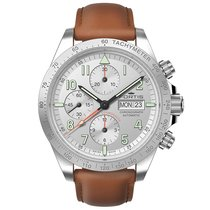 Fortis 401.21.12 L.01 FORTIS COSMONAUTS A.M. Day Date Steel neu