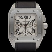 Cartier Santos 100 XL Chronograph Stainless Steel Gents 2740...
