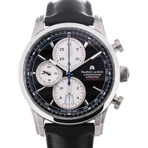 Maurice Lacroix Pontos 43 Chronograph Leather Strap