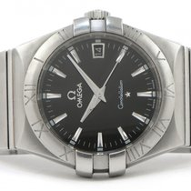 Omega Constellation 123.10.35.60.01.001 35mm Quartz Date Box...