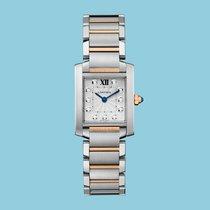 Cartier TANK FRANÇAISE 25 Rotgold/Stahl -NEU-incl. VAT Exp....