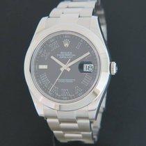 Rolex Datejust II Black Roman 116300