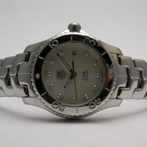 TAG Heuer Link Wj1319 Diamond Mother Of Pearl Dial Ladies Watch