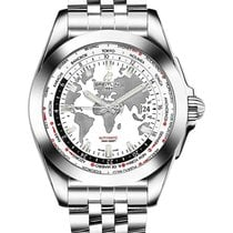 Breitling WB3510U0/A777-375A Galactic 44mm Automatic in Steel...