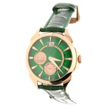 Jacob & Co. Red gold Manual winding Green 42mm new