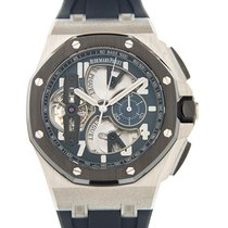 愛彼 Royal Oak Offshore 950 Platinum Blue Manual Wind 26388PO.OO...