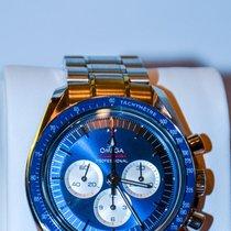 Omega Speedmaster Steel 42mm Blue